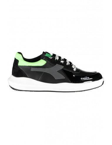 DIADORA HERITAGE unisex calzado BASKET low - black