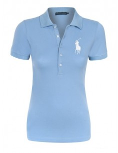 Polo RL big pony red light blue