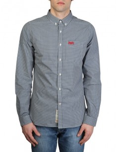 Superdry camisa manga larga doble bolsillo