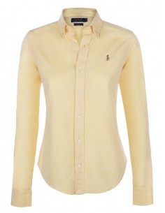 Camisa oxford small pony woman pink