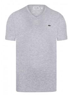 Lacoste camiseta para hombre - Gris melange