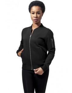 Urban Classics chaqueta bomber mujer - negra