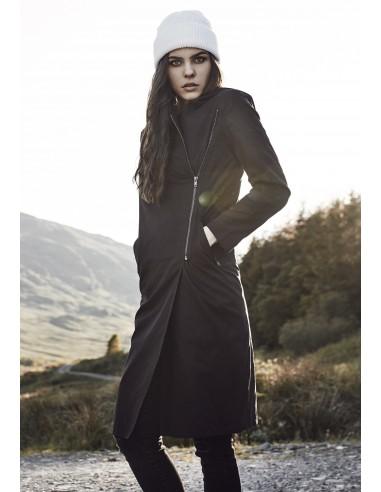 Abrigo largo de mujer