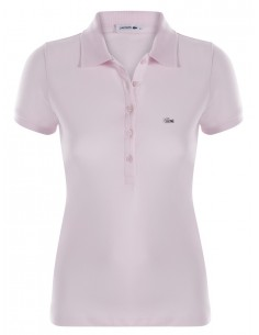 Polo lacoste mujer - white