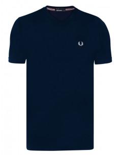 Fred Perry camiseta cuello V - navy