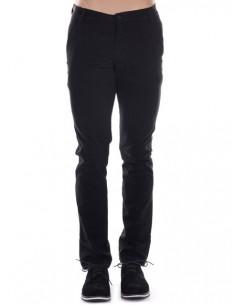 Pantalon Giorgio di mare tipo chino GDM4 negro