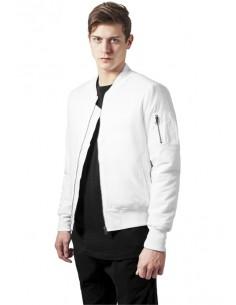 Chaqueta Bomber basic de Urban Classics - blanca