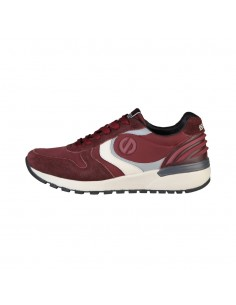 Zapatillas Sparco running retro Hidden - granate