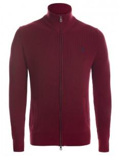 Jersey cardigan Polo - Beige