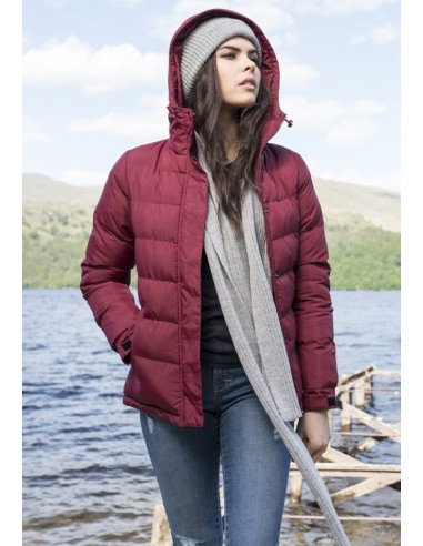 Urban Classics chaqueta acolchada - burgundy