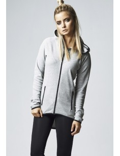 Urban Classics Sudadera woman athletic - gris