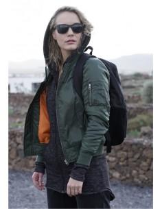 Chaqueta bomber basic de Urban Classics para mujer - olive