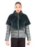 Fontana 2.0 Plumón + chaqueta piel GINEVRA - verde