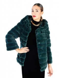 Fontana 2.0 Abrigo de piel sintético GLENDA - verde