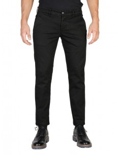 Pantalón Oxford university - black washed
