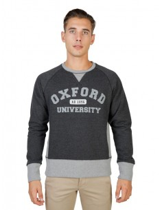 Sudadera Oxford univeristy reglan - grey