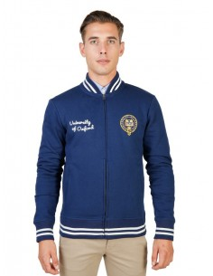 Chaqueta sudadera Oxford univeristy teddy - navy