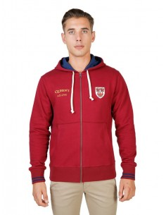 Chaqueta sudadera Oxford univeristy con capucha - red