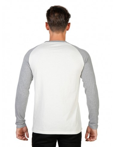 Camiseta Oxford university Queens Raglan - blanca