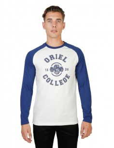 Camiseta Oxford university oriel Raglan - green