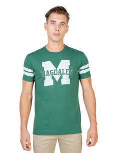 Camiseta Oxford university Tmagadalen - stripped green