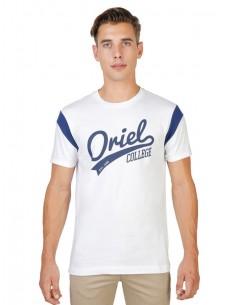 Camiseta Oxford university varsity - white