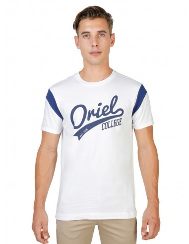 Camiseta Oxford university varsity - white