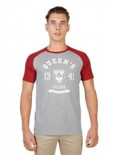 Camiseta Oxford university reglan - grey red