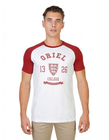 Camiseta Oxford university reglan - red