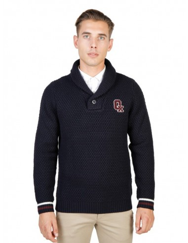 Jersey Oxford university cuello smoking - navy