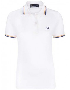 Polo Fred Perry woman - white