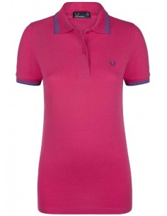 Polo Fred Perry woman - Fuxia