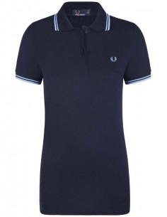 Polo Fred Perry woman - Navy