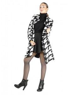 Fontana 2.0 abrigo MARZIA - negro/blanco