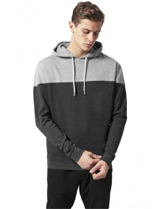 Urban Classics sudadera colorblock - charcoal