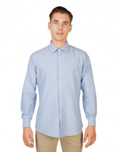 Camisa Oxford University - French azul claro
