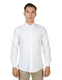 Camisa Oxford University - French blanco