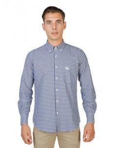 Camisa Oxford University - plaid navy