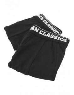 Urban Classics pack de 2 boxers - black