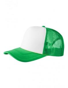 Gorra de Beisbol Masterdis rejilla - verde/blanca