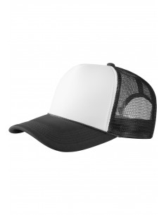 Gorra de Beisbol Masterdis rejilla - negra/blanca