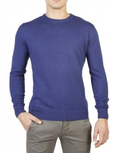 Trussardi jersey cuello redondo premium - royal