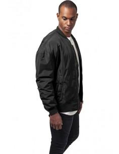 Chaqueta Bomber oversize de Urban Classics - black