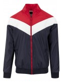Chaqueta arrow Urban Classics - navy red