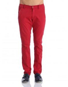 Pantalon Giorgio di mare tipo chino GDM9 rojo