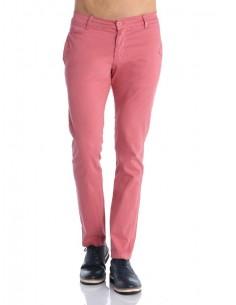 Pantalon Giorgio di mare tipo chino GDM8 rojo gastado