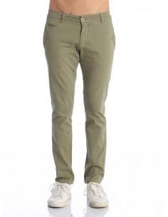 Pantalon Giorgio di mare tipo chino GDM8 kaki