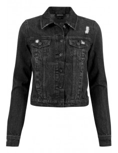 Chaqueta denim Urban Classics - black washed