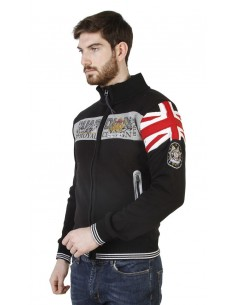 Sudadera Geographical Norway - Guardian black