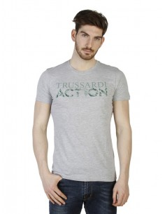 Camiseta Trussardi - Action Gris